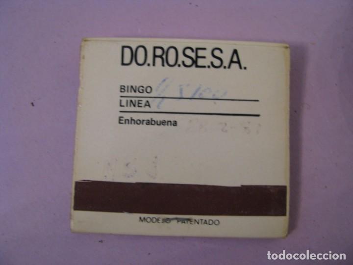 Cajas de Cerillas: CARTERITA DE CERILLAS. BINGO PEÑA MALAGUISTA. MÁLAGA. - Foto 3 - 183857481