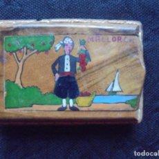 Cajas de Cerillas: CAJITA MADERA CERILLAS DE MALLORCA. Lote 185964810
