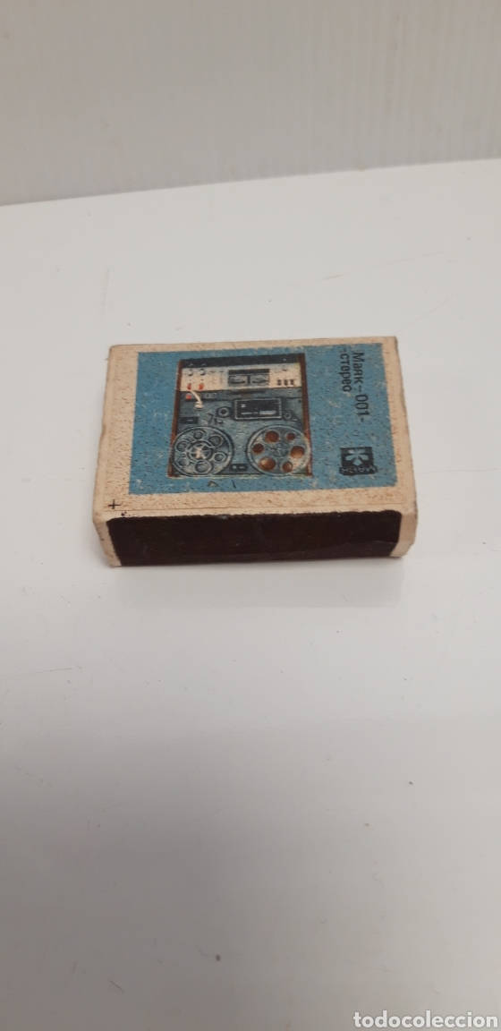 Cajas de Cerillas: CAJA DE CERILLAS LLENA AÑOS 60 APARATO DE MUSICA - Foto 2 - 186061942