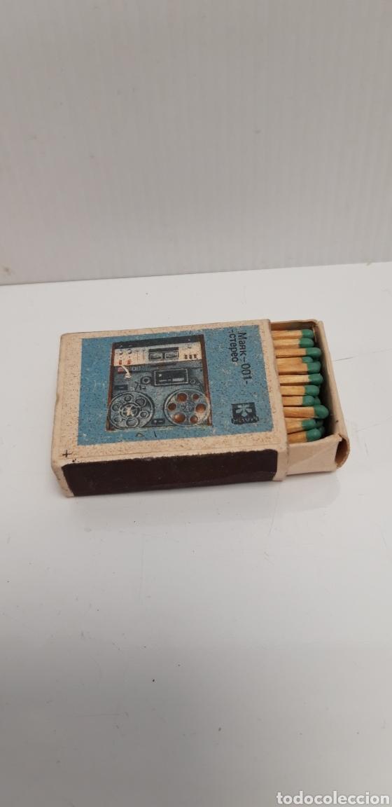 Cajas de Cerillas: CAJA DE CERILLAS LLENA AÑOS 60 APARATO DE MUSICA - Foto 3 - 186061942
