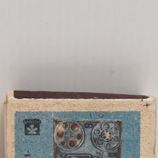 Cajas de Cerillas: CAJA DE CERILLAS LLENA AÑOS 60 APARATO DE MUSICA. Lote 186061942