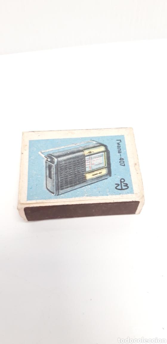 Cajas de Cerillas: CAJA DE CERILLAS LLENA AÑOS 60 APARATOS DE MUSICA - Foto 2 - 186063623