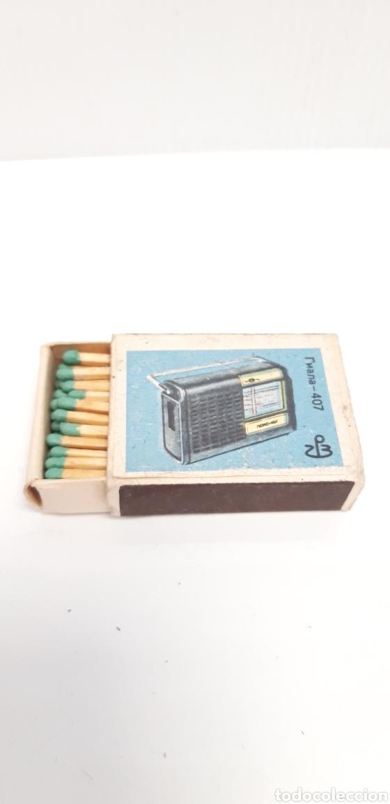 Cajas de Cerillas: CAJA DE CERILLAS LLENA AÑOS 60 APARATOS DE MUSICA - Foto 3 - 186063623