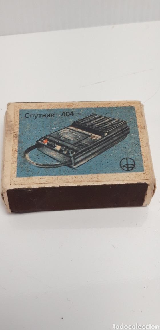 Cajas de Cerillas: CAJA DE CERILLAS LLENA AÑOS 70 APARATOS DE MUSICA - Foto 2 - 186063873