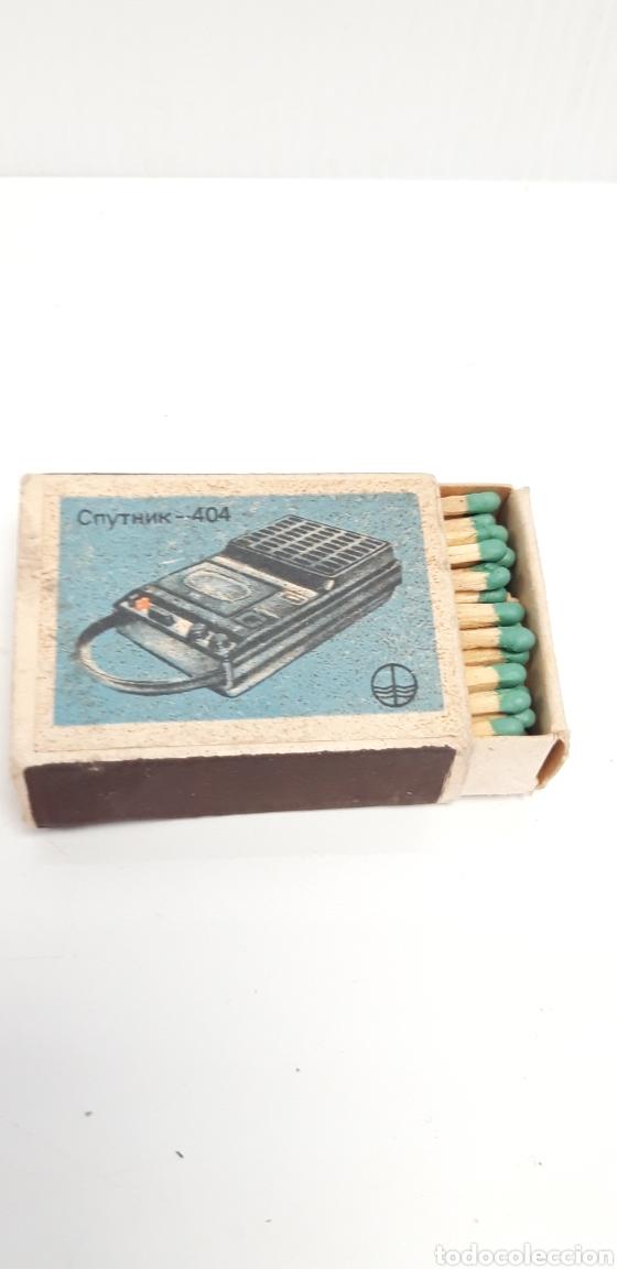Cajas de Cerillas: CAJA DE CERILLAS LLENA AÑOS 70 APARATOS DE MUSICA - Foto 3 - 186063873
