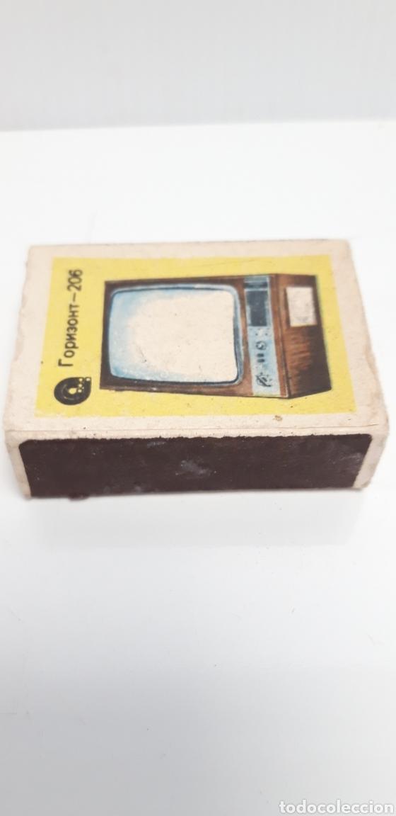 Cajas de Cerillas: CAJA DE CERILLAS LLENA AÑOS 60 TELEVISOR - Foto 2 - 186064576
