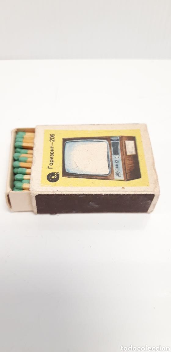 Cajas de Cerillas: CAJA DE CERILLAS LLENA AÑOS 60 TELEVISOR - Foto 3 - 186064576
