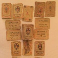 Cajas de Cerillas: ANTIGUAS DE CERILLAS MONOPLIO COMPAÑIA ARRENDATARIA DE FOSFOROS AÑOS 30. Lote 186065733