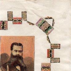 Cajas de Cerillas: PANEL CAJA DE CERILLAS SIGLO XIX DORREGARAY. Lote 186123003