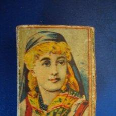 Cajas de Cerillas: (PA-191200A)CAJA DE CERILLAS SIGLO XIX - CAMPS Y LLOBERA - TARREGA. Lote 186223437