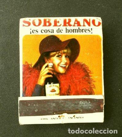 Cajas de Cerillas: Caja de cerillas - Publicidad - SOBERANO (Años 70) (modelo raro y escaso) El Futbol y sus reglas - Foto 3 - 186438892