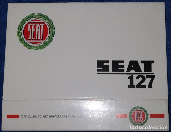 Cajas de Cerillas: Seat 127 - Caja de cerillas - Fosforera Española ¡Impecable! - Foto 2 - 186446885