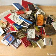 Cajas de Cerillas: LOTE DE 69 CAJAS DE CERILLAS PUBLICITARIAS DE LOS AÑOS 70. Lote 231287845