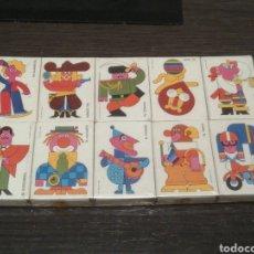 Cajas de Cerillas: CAJAS DE CERILLAS EL MUNDO DEL CIRCO. LOTE DE 10 CAJAS.. Lote 187179832