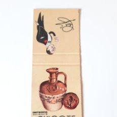 Cajas de Cerillas: CARTERITA CERILLAS - CHICOTE ( MADRID ). Lote 189163251