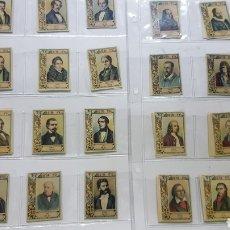 Cajas de Cerillas: SERIE CASI COMPLETA ( 73 ) FOTOTIPIAS CAJAS DE CERILLAS Nº 26.COMPOSITORES CELEBRES.FALTAN 31Y 32. Lote 189340978