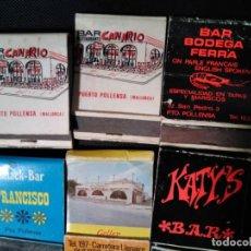 Cajas de Cerillas: CAJAS CERILLAS CARTERITA PUERTO DE POLLENÇA MALLORCA. Lote 189519646
