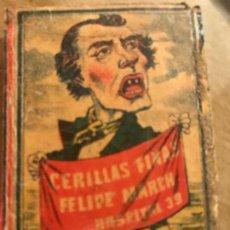 Cajas de Cerillas: FOTOTIPIA ANTIGUA CERILLAS. Lote 190083153