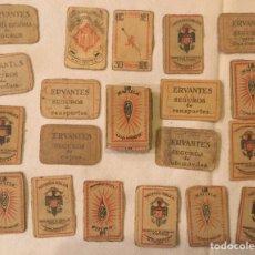 Cajas de Cerillas: ANTIGUA FOTOTIPIA CERILLAS MONOPOLIO Y FOSFOROS CIA ARRENDATARIA JUEGO JOC PETACONS. Lote 190469776