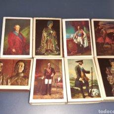 Cajas de Cerillas: COLECCIÓN DE CAJAS DE CERILLAS DE LOS REYES ESPAÑOLES. Lote 190621135