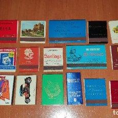 Cajas de Cerillas: 18 ANTIGUAS CAJAS DE CERILLAS, SIN USAR. Lote 190897166