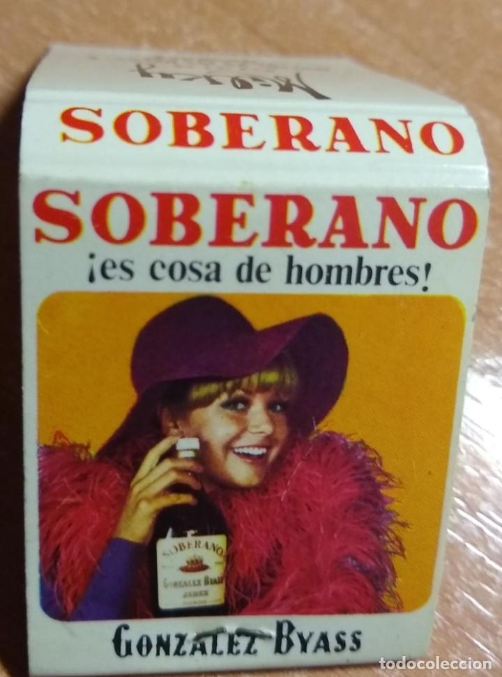 Cajas de Cerillas: CAJA DE CERILLAS PUBLICIDAD SOBERANO + MILKY CLUB (MADRID) - Foto 2 - 191303156