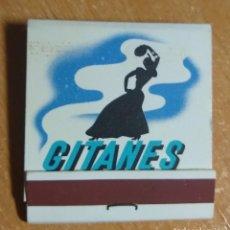 Cajas de Cerillas: CAJA DE CERILLAS PUBLICIDAD CIGARRILLOS GITANES (FRANCIA). Lote 191305898
