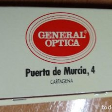 Cajas de Cerillas: ANTIGUA CAJA DE CERILLAS GENERAL OPTICA (CARTAGENA). Lote 191320577