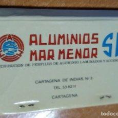 Cajas de Cerillas: CAJA DE CERILLAS ANTIGUA - ALUMINIOS MAR MENOR (MURCIA). Lote 191372303