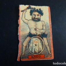 Caixas de Fósforos: BACO ENVUELTA CROMO CAJA DE CERILLAS SIGLO XIX. Lote 191562773