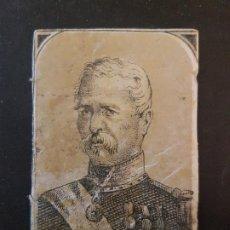Cajas de Cerillas: MAC MAHON ENVUELTA CROMO CAJA DE CERILLAS SIGLO XIX TABACO. Lote 191602041