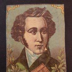 Cajas de Cerillas: BELLINI ENVUELTA CROMO CAJA DE CERILLAS SIGLO XIX TABACO. Lote 191602127