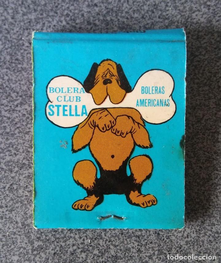 Cajas de Cerillas: Caja Cerillas Discoteca Bolera Stella - Foto 3 - 192548211