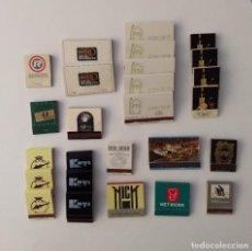 Cajas de Cerillas: LOTE DE 26 CAJAS DE CERILLAS DE LOS AÑOS 80'. Lote 192779170