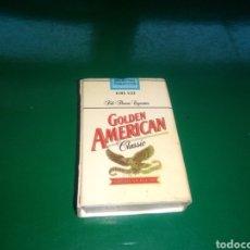 Cajas de Cerillas: ANTIGUA CAJA DE CERILLAS GOLDEN AMERICAN. Lote 194192956