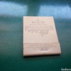Cajas de Cerillas: ANTIGUA CAJA DE CERILLAS PARADORES DE TURISMO. Lote 194193778