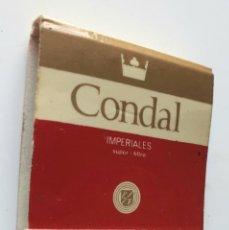 Cajas de Cerillas: CONDAL IMPERIALES. Lote 194228391