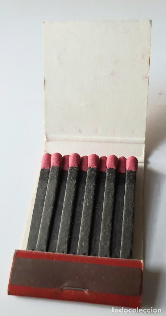 Cajas de Cerillas: VIRGEN DEL PILAR PATRONA GUARDIA CIVIL *** FIGUERAS AÑO 1974 - Foto 2 - 194228586