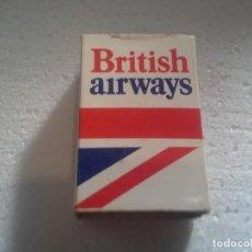 Cajas de Cerillas: CAJA DE CERILLAS BRITHISH AIRWAYS COMPLETA. Lote 194252665