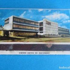 Cajas de Cerillas: SEGASA,ALICANTE ANTIGUA CAJA CERILLAS,EN PERFECTO ESTADO. Lote 194316127