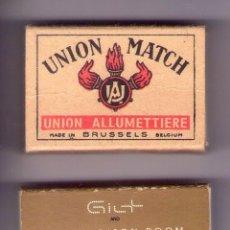 Cajas de Cerillas: CAJAS DE CERILLAS ,UNION MATCH- THE MADISON ROOM. Lote 194337858