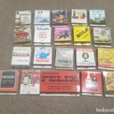 Cajas de Cerillas: CERILLAS........LOTE DE 20 CARTERITAS DE CERILLAS.. Lote 194501105