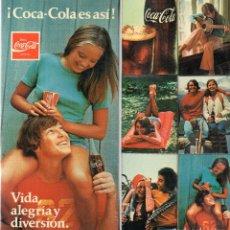 Cajas de Cerillas: ESTUCHE DE CAJAS DE CERILLAS COCA-COLA. Lote 194571181