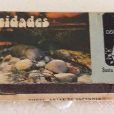 Cajas de Cerillas: CAJA DE CERILLAS COMPLETA WATERGATE SANTA CRUZ OLEIROS LA CORUÑA. Lote 194587218