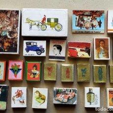 Cajas de Cerillas: LOTE DE 23 CAJAS DE CERILLAS VARIADAS. Lote 194674300