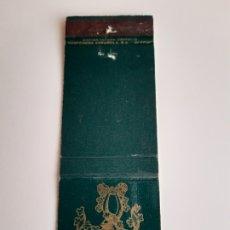Cajas de Cerillas: CARTERITA CERILLAS - RESTAURANTE HORCHER - BODEGAS ( MADRID ). Lote 194701687