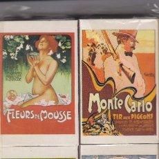 Cajas de Cerillas: 6 CAJAS CERILLAS JAPONESAS MODERNISMO CON CERILLAS EN PACK. Lote 194707166