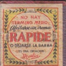 Cajas de Cerillas: 5 CAJAS CON SUS CERILLAS RAPIDE, BURGOS, ESCUDOS NACIONAL, NAVARRA Y TERUEL . Lote 194711252