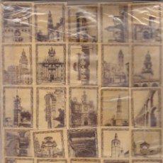 Cajas de Cerillas: 50 PANELES DE CAJAS CERILLAS - FOTOTIPIAS Nº 1 AL 50 ¿SIGLO XIX? ANTIGUAS. Lote 194715886