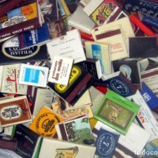 Cajas de Cerillas: 254 CAJAS DE CERILLAS ANTIGUAS EN BUEN ESTADO DETALLES . Lote 194756625